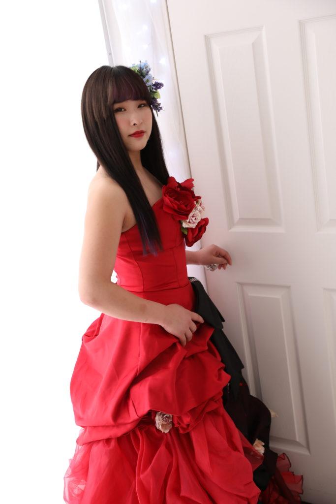 成人式 前撮り撮影 ドレス