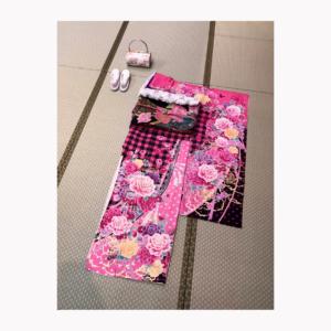 pinkカワイイ振袖
